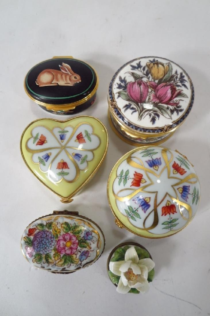 Porcelain Pill Box Collection, et al. - 3