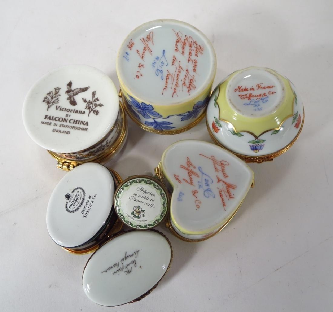 Porcelain Pill Box Collection, et al. - 4