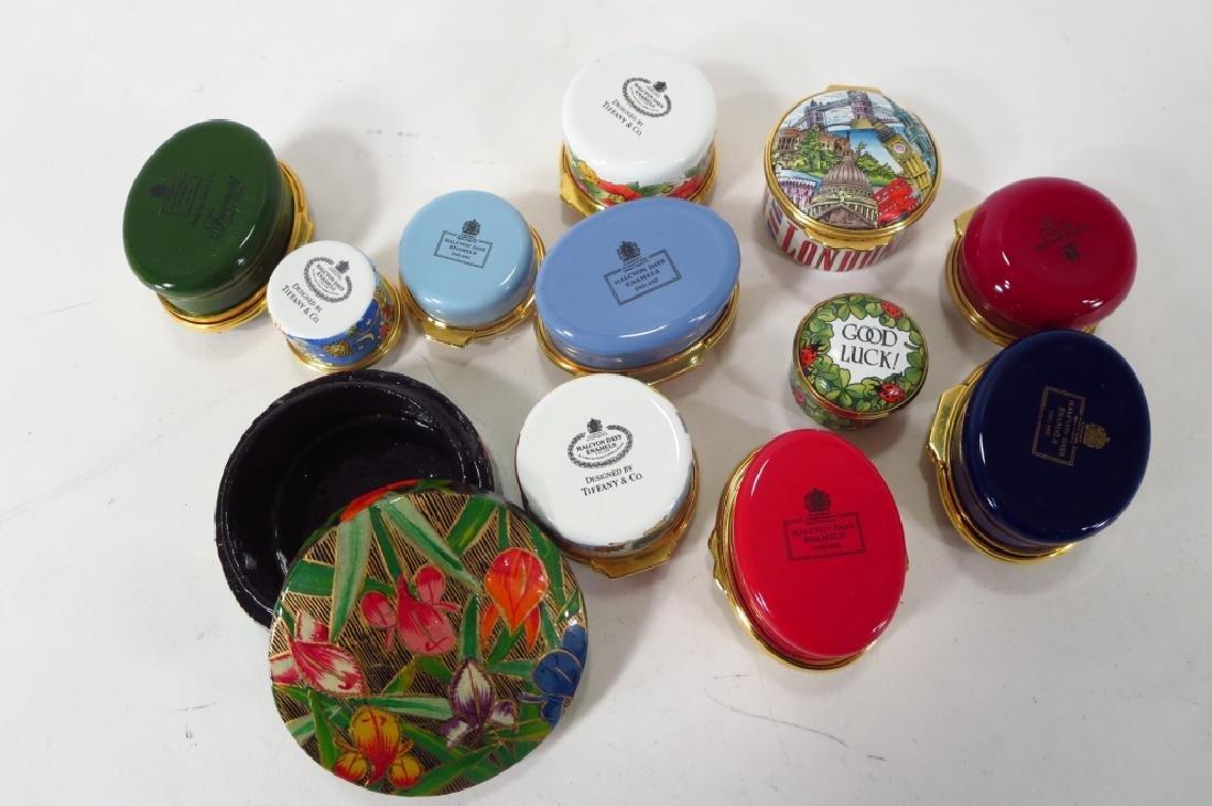 Porcelain Pill Box Collection, et al. - 5