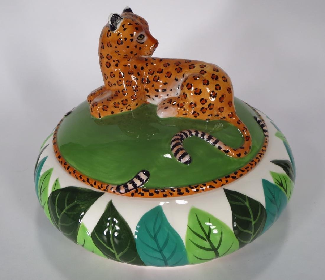 Lynn Chase Jaguar Jungle Jubilee Tureen 2006