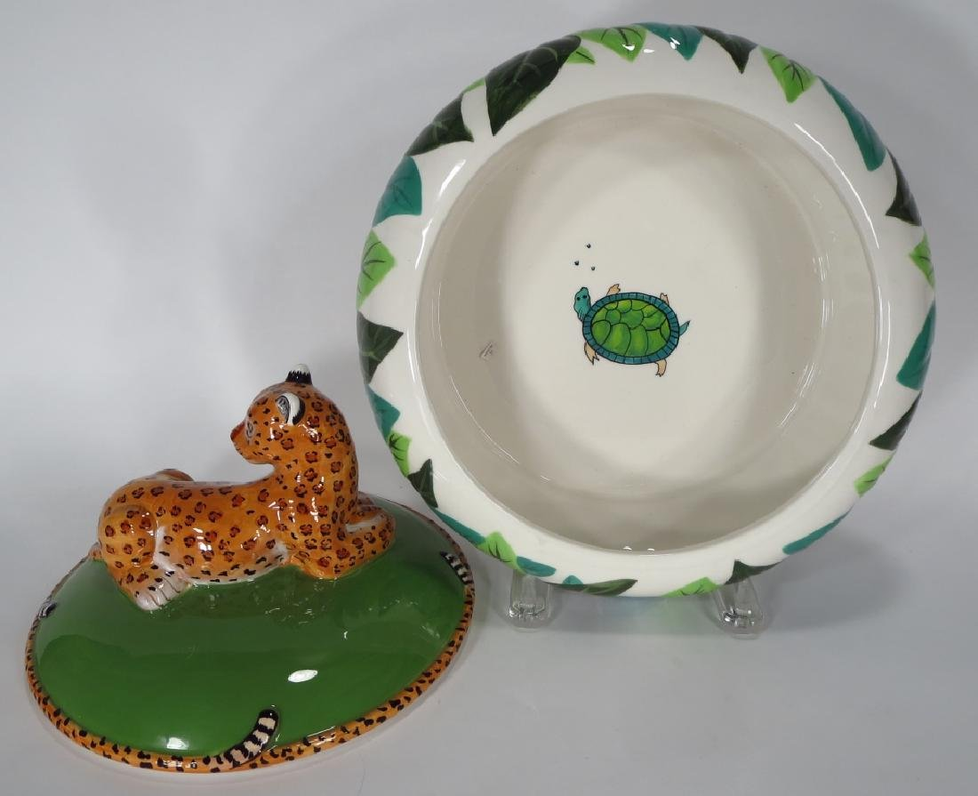 Lynn Chase Jaguar Jungle Jubilee Tureen 2006 - 3