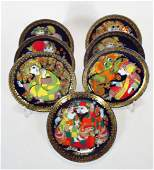 Bjorn Winblad Plates by Rosenthal Aladdin Series