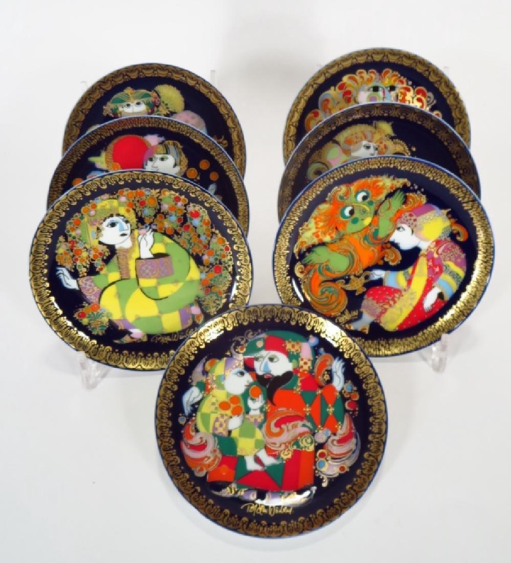 Bjorn Winblad Plates by Rosenthal, Aladdin Series