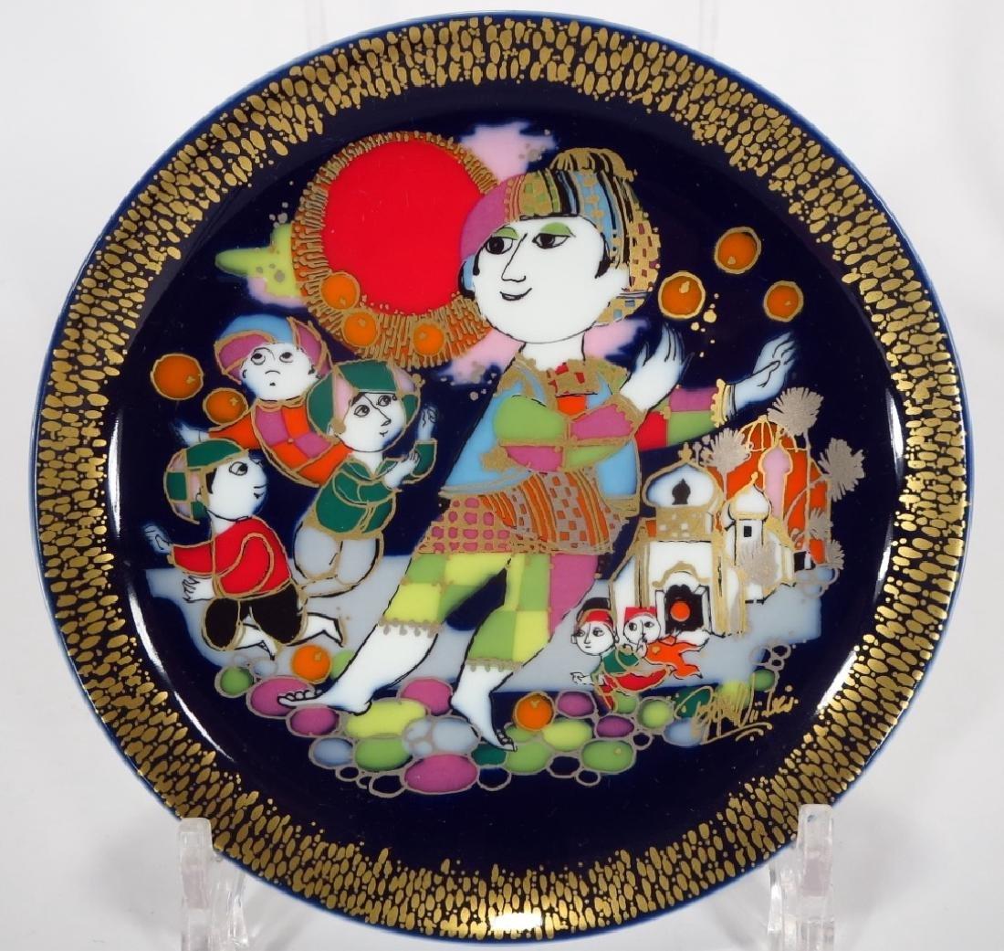 Bjorn Winblad Plates by Rosenthal, Aladdin Series - 2