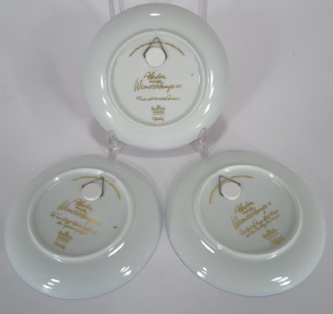 Bjorn Winblad Plates by Rosenthal, Aladdin Series - 3