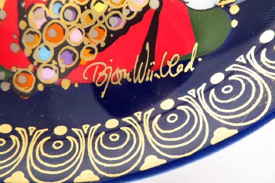 Bjorn Winblad Plates by Rosenthal, Aladdin Series - 4