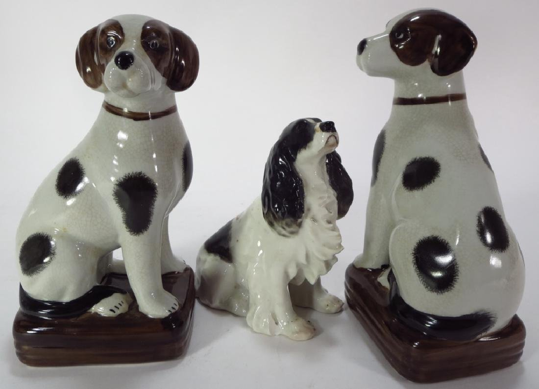 Group of 9 Pottery Animal Figures - 3