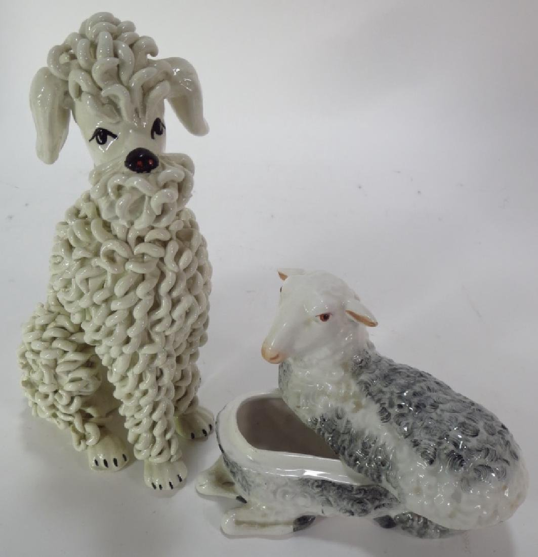 Group of 9 Pottery Animal Figures - 5