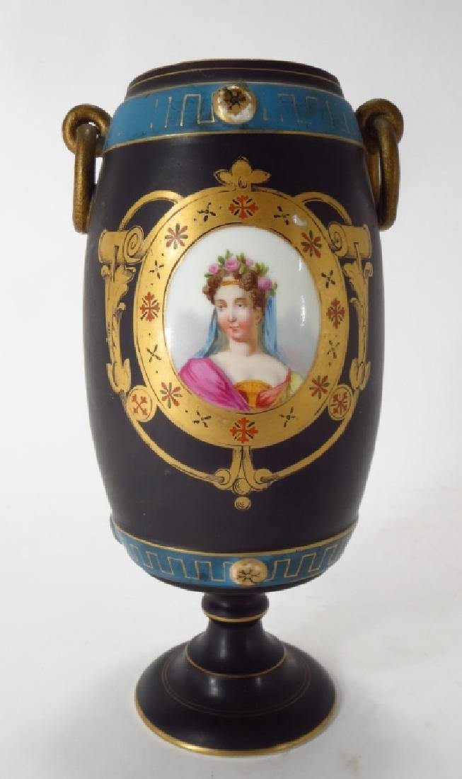 Porcelain Vase,Souvenir of Grand Tour,19th C.