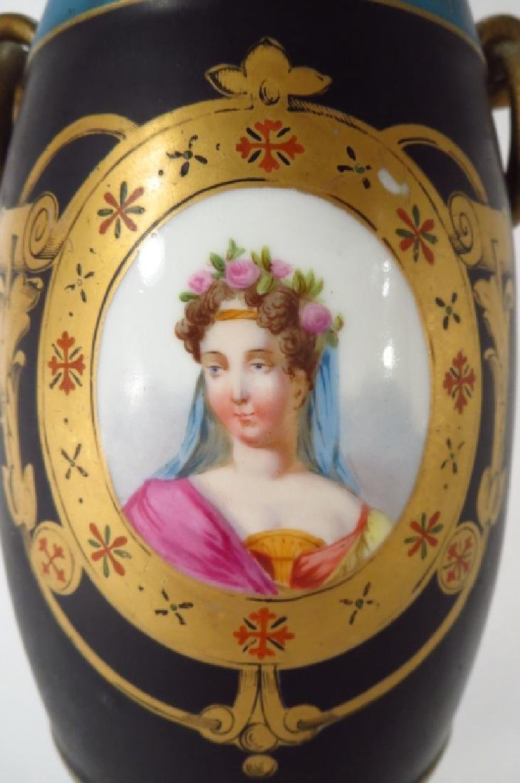 Porcelain Vase,Souvenir of Grand Tour,19th C. - 4