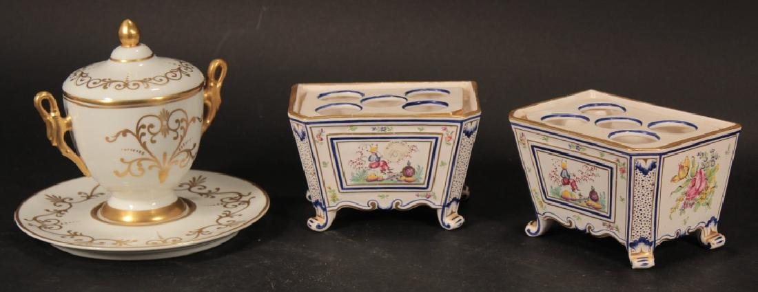 Group of French Porcelain incl. Urns & Jardinieres - 4
