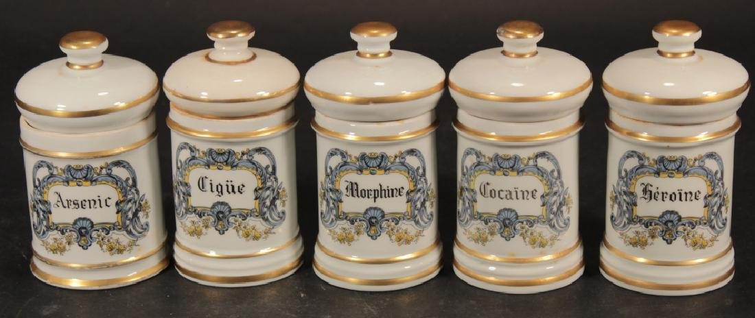 Group of French Porcelain incl. Urns & Jardinieres - 5