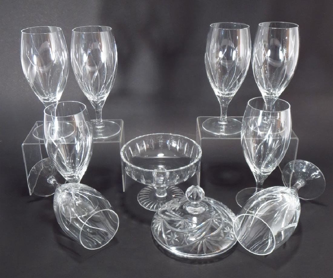 Mixed Silverplate and Crystal Group - 7