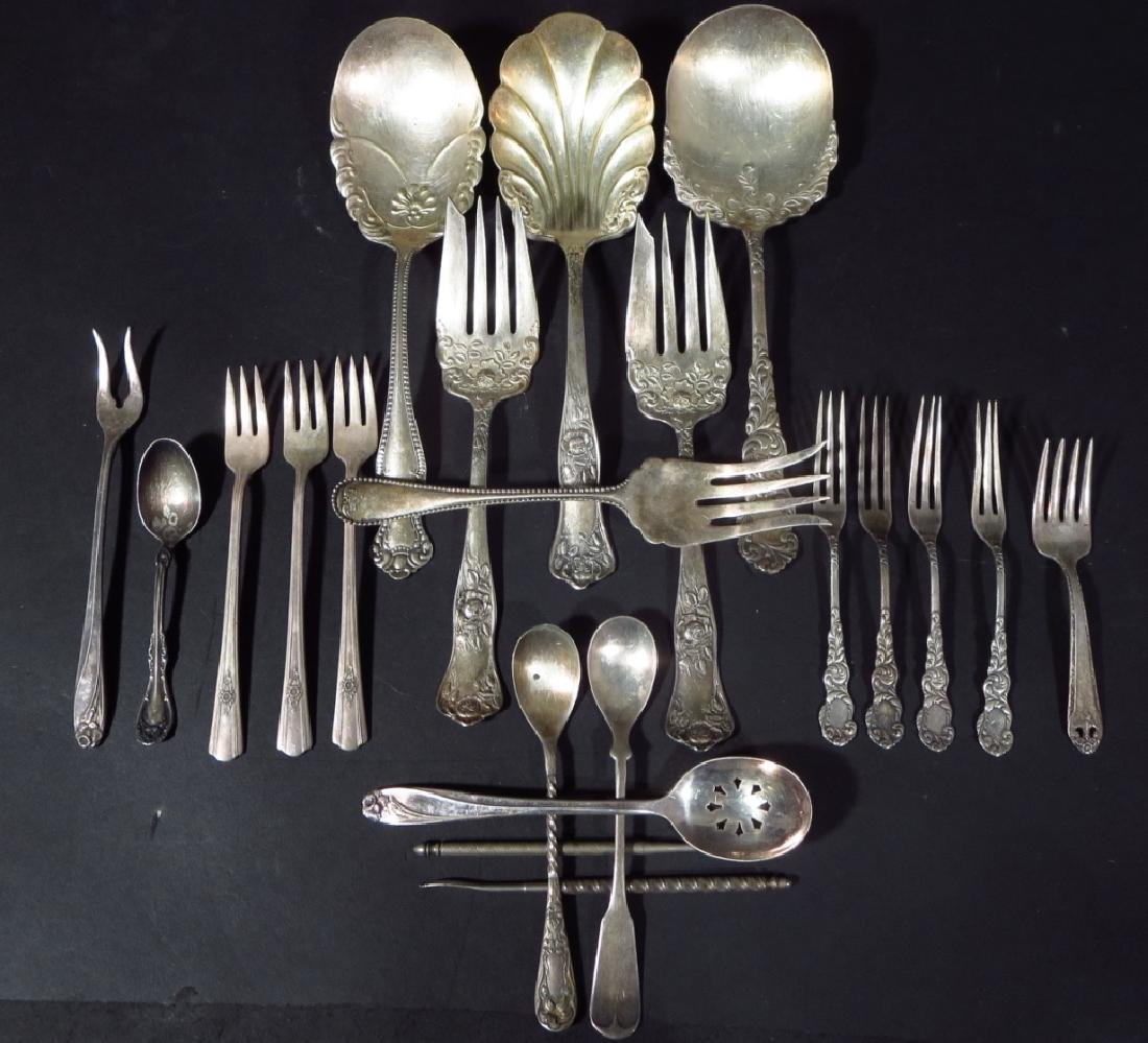 """106 pc. Sterling service for 12 """"Blossom Time"""" etc - 2"""
