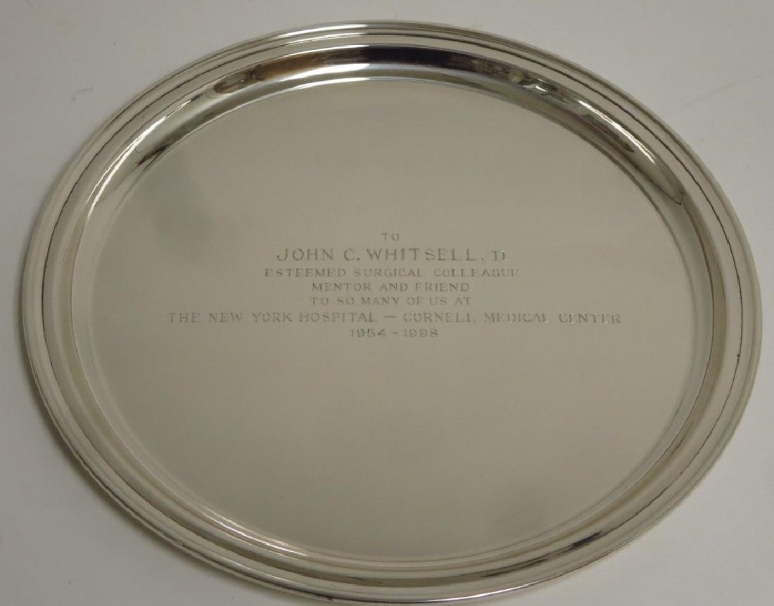 Tiffany & Co. Sterling Silver Presentation Charger