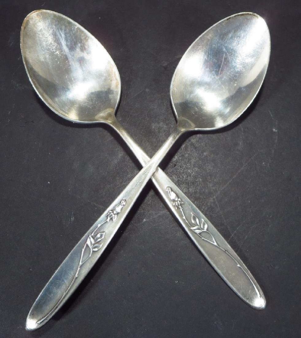 "Towle Sterling Flatware""Rose Solitaire"" - 2"