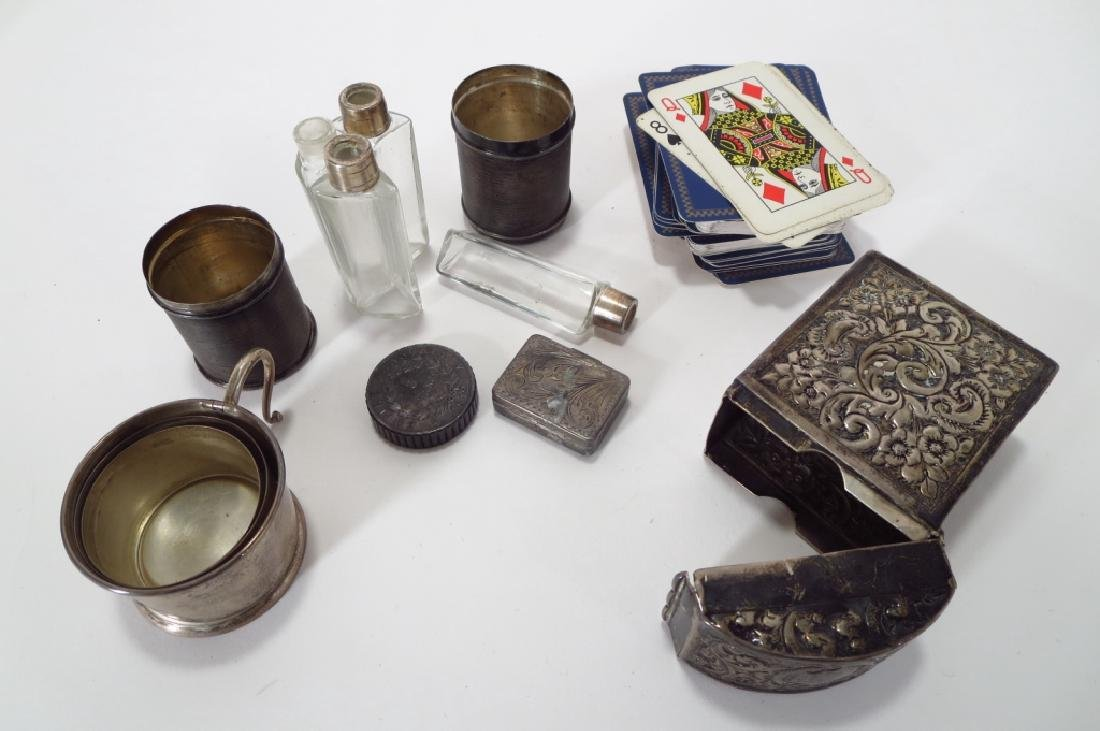 8 silver and silverplate articles - 2