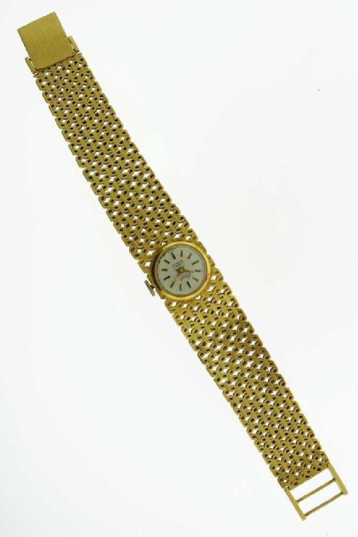 2 Wristwatches, 18K and Cartier - 2