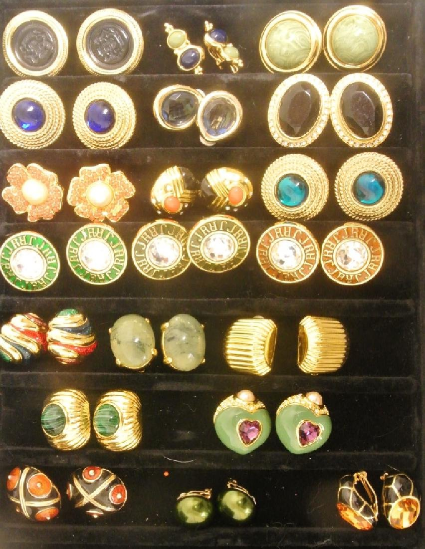 Costume Earrings by Joan Rivers