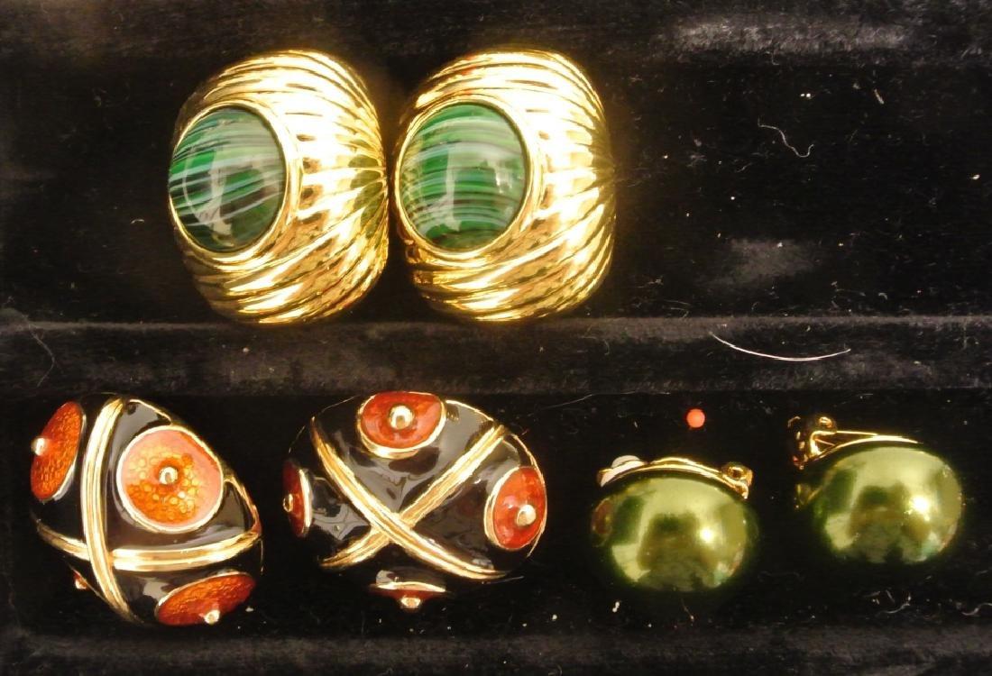 Costume Earrings by Joan Rivers - 3