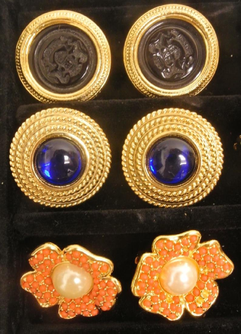 Costume Earrings by Joan Rivers - 4
