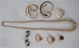 7 10k Gold Jewelry Items