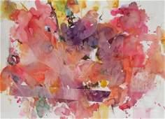 Arlene Betkelen Cohen Abstract W/C 20th c.