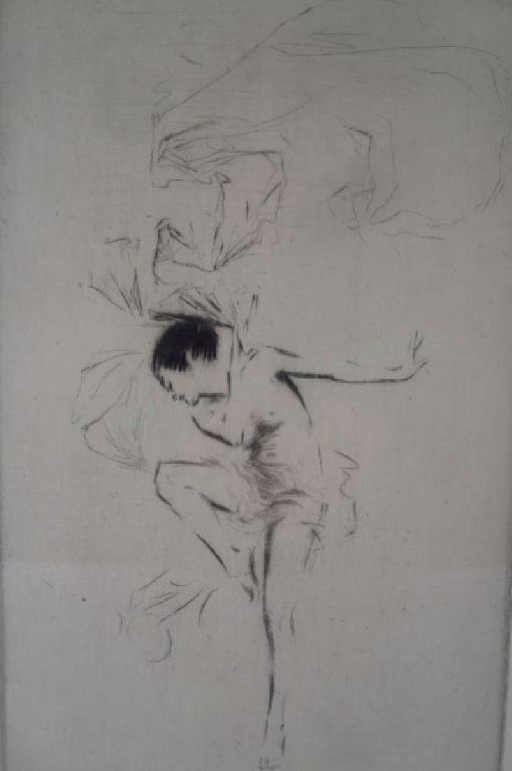Troy Kinney 1871-1938 The Seventh Veil Etching