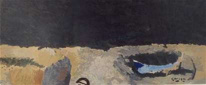 """Georges Braque, """"La Barque sur la Greve"""", Litho"""