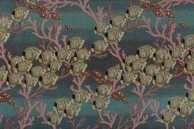"S. O'hara, ""sea Saw"" Tapestry, Jacquard Tapestry"