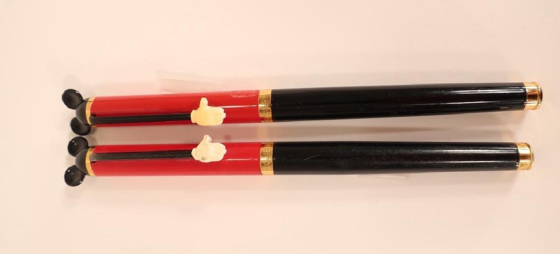 2 Colibri Disney Mickey Mouse Pens