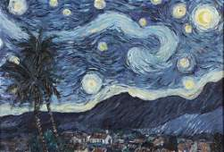 Carlos Hidalgo Samonia After Starry Night O/C 1992