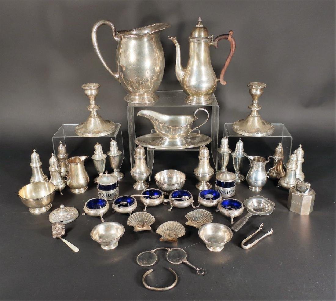 Large Lot of Sterling Silver, incl. Tiffany & Co.