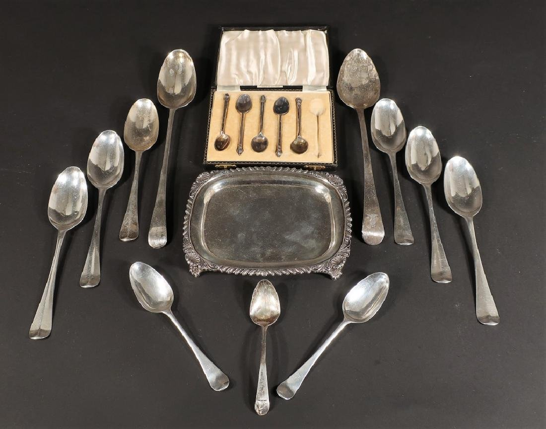 Georgian and Other English Sterling Silver
