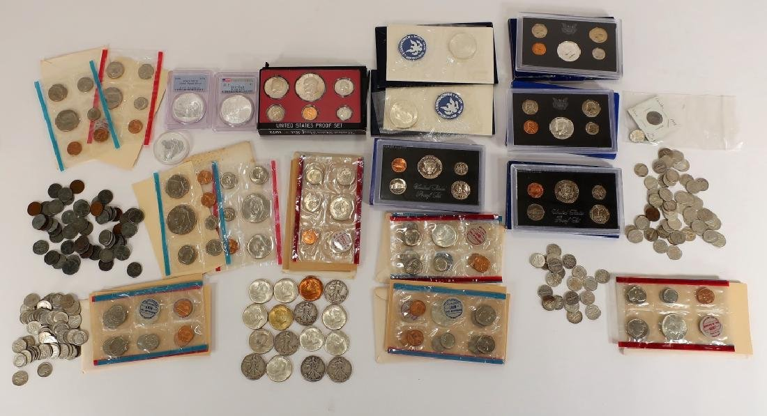 Lot of Pre-1964 U.S. Coins and Others