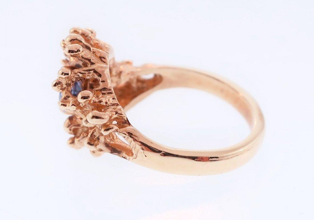 14K Gold and Tanzanite Ring - 3