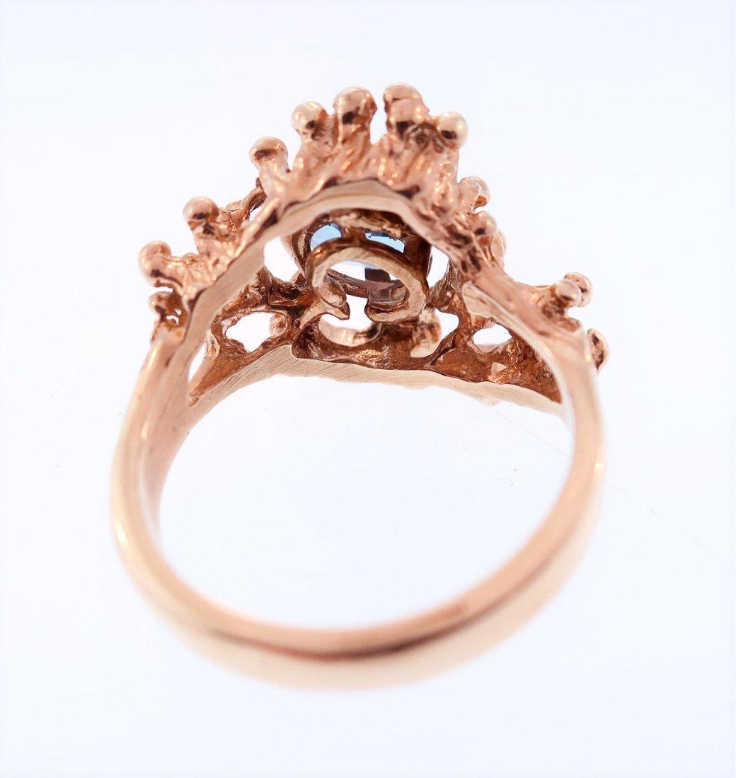 14K Gold and Tanzanite Ring - 4