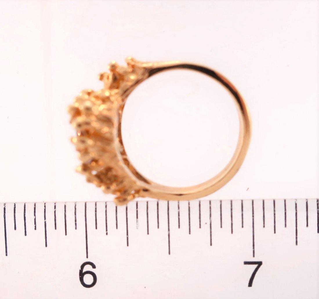 14K Gold and Tanzanite Ring - 5