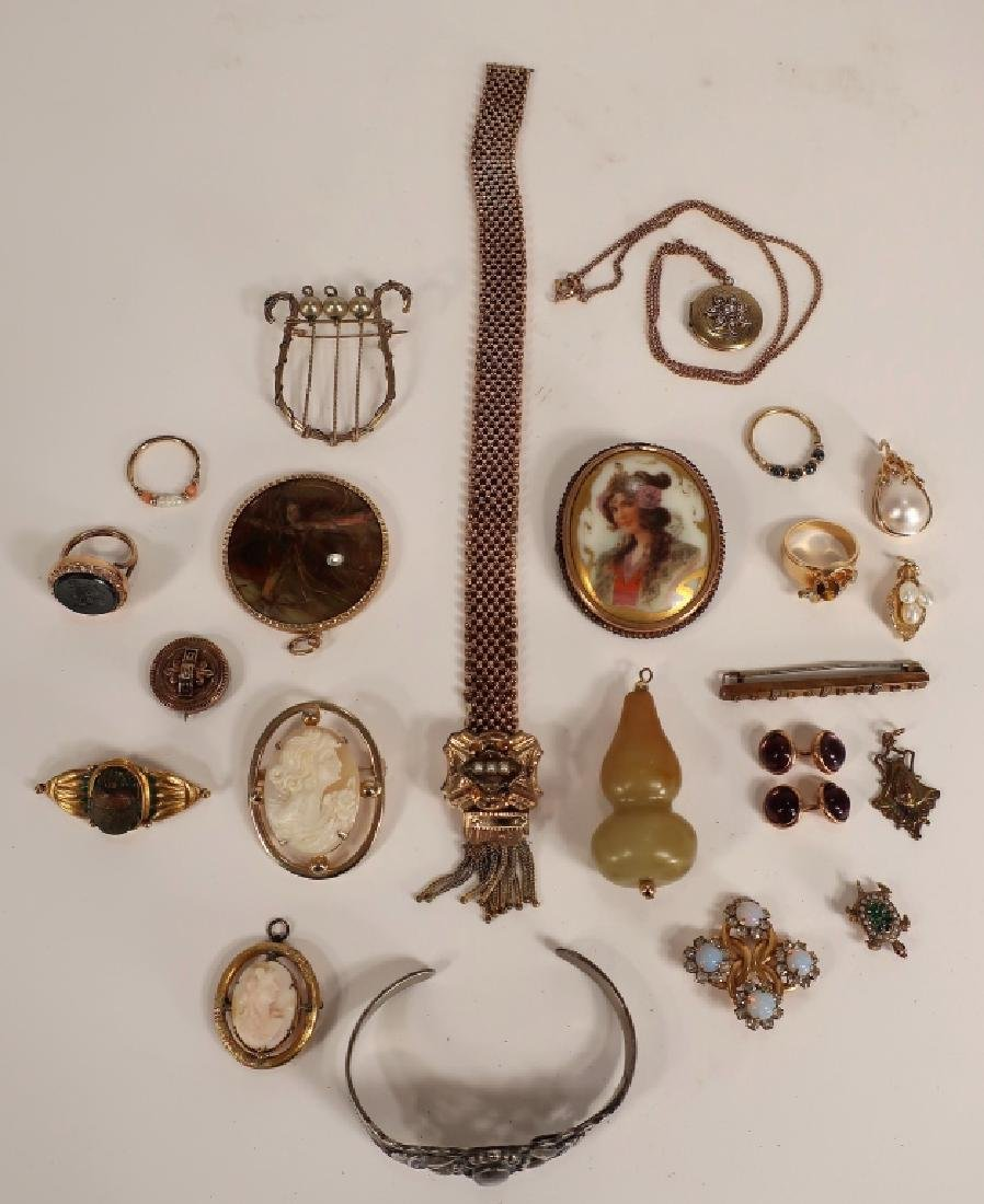 Gold Filled Jewelry -  Victorian etc.