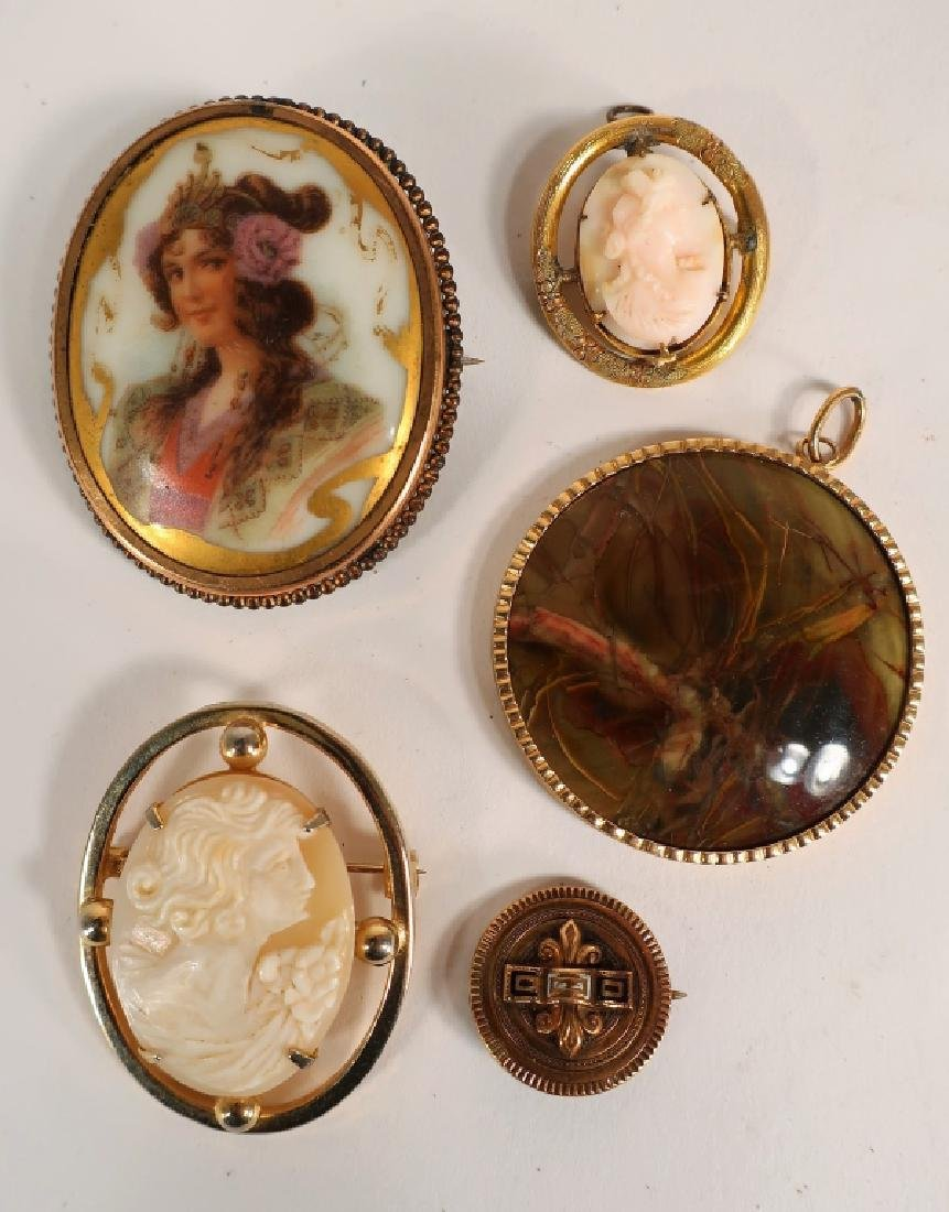Gold Filled Jewelry -  Victorian etc. - 2