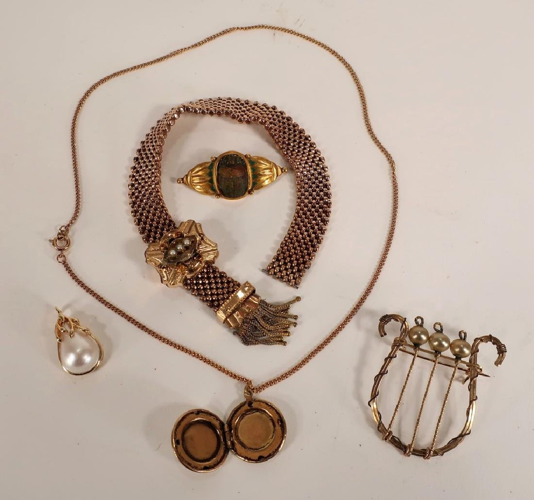Gold Filled Jewelry -  Victorian etc. - 3