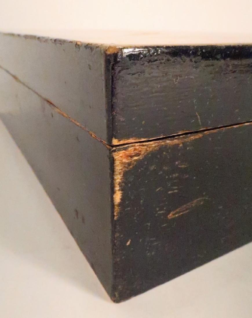 """Painted Wood Vanity Box signed """"Bozitch"""", C.1930 - 5"""