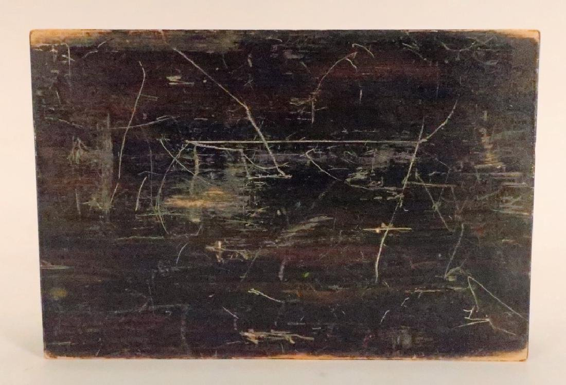 """Painted Wood Vanity Box signed """"Bozitch"""", C.1930 - 6"""