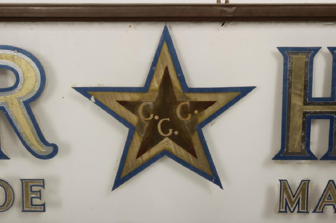 "Vintage ""Star Herbs"" Trade Mark Shop Sign - 2"
