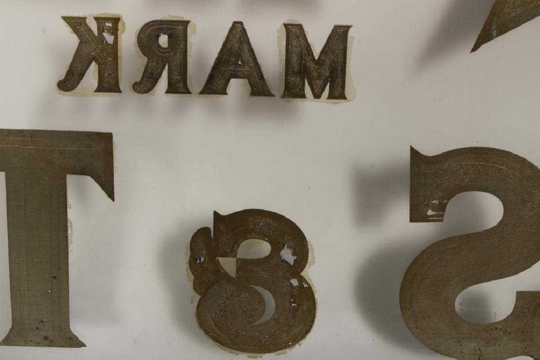 "Vintage ""Star Herbs"" Trade Mark Shop Sign - 4"