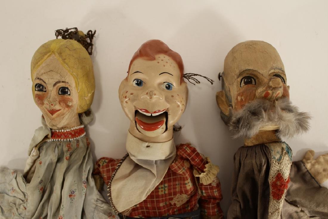 Howdy Doody Marionette & 2 puppets - 2