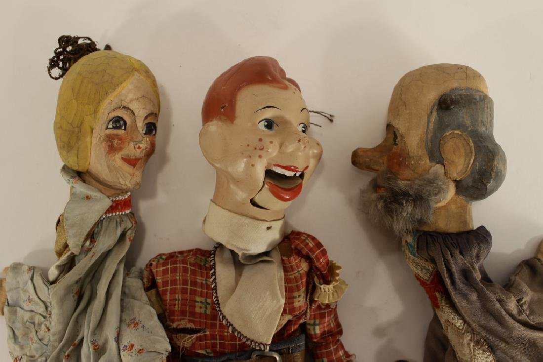 Howdy Doody Marionette & 2 puppets - 3