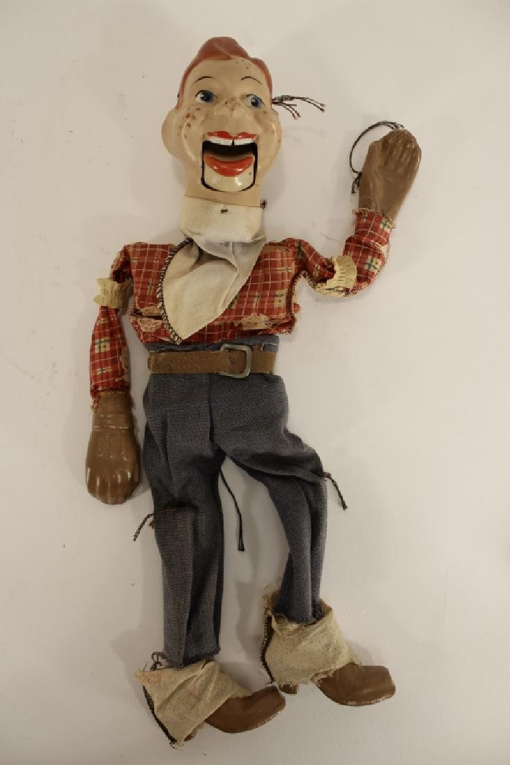 Howdy Doody Marionette & 2 puppets - 5