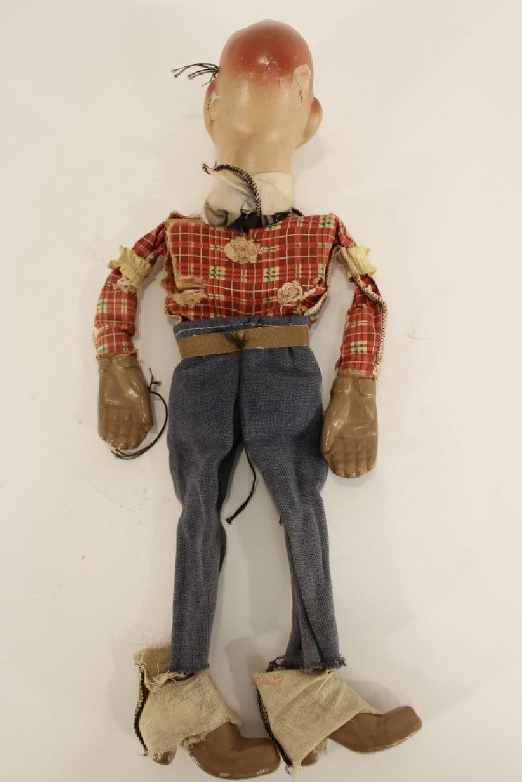 Howdy Doody Marionette & 2 puppets - 6
