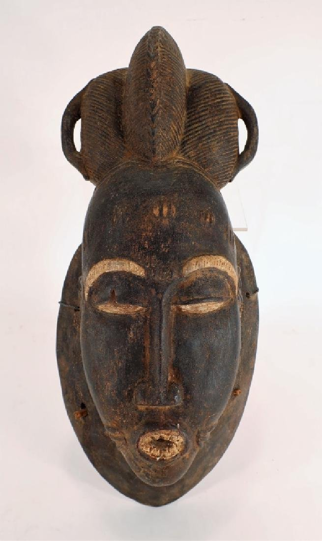 African Baule Mask, Ivory Coast, early 20th C.